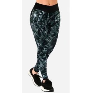 High Rise Sport Leggings With Wide Waistband